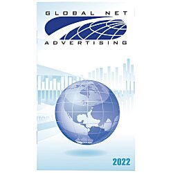 View a larger, more detailed picture of the Impressions Monthly Pocket Planner - Global