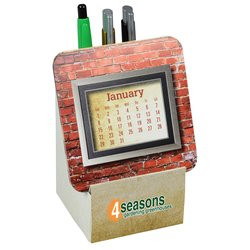 View a larger, more detailed picture of the Coaster Desk Top Calendar - Craftsman