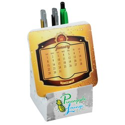 View a larger, more detailed picture of the Coaster Desk Top Calendar - Craft Brew