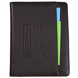 View a larger, more detailed picture of the Cutter & Buck Leather American Classic Jr Writing Pad