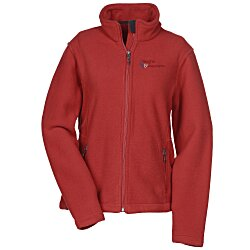View a larger, more detailed picture of the Crossland Fleece Jacket - Ladies