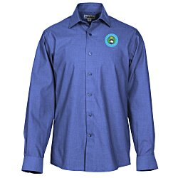 View a larger, more detailed picture of the Signature Non-Iron Dress Shirt - Men s - 24 hr