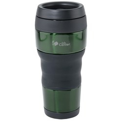 View a larger, more detailed picture of the Thermos Comfort Grip Tumbler - 16 oz
