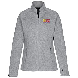 View a larger, more detailed picture of the Storm Creek Sweater Fleece Jacket - Ladies
