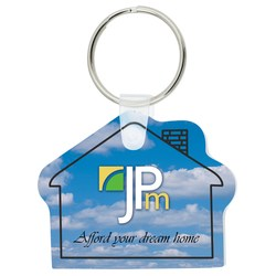 View a larger, more detailed picture of the House Soft Key Tag - Full Color