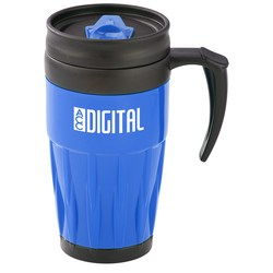 View a larger, more detailed picture of the Tazza Travel Mug - 14 oz - 24 hr