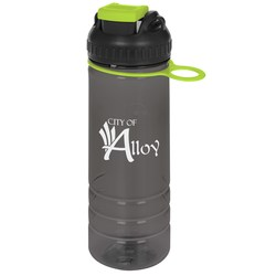 View a larger, more detailed picture of the Groove Grip Sport Bottle - 20 oz - 24 hr