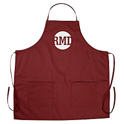 View a larger, more detailed picture of the BBQ Apron w Pockets - Color