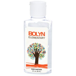 View a larger, more detailed picture of the Clean Up Hand Sanitizer - 2 oz