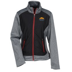 View a larger, more detailed picture of the Victory Hybrid Performance Fleece Jacket - Ladies