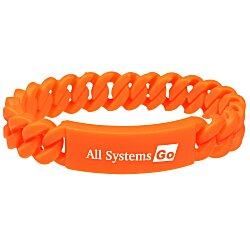 View a larger, more detailed picture of the Silicone Twist Bracelet