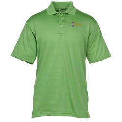 View a larger, more detailed picture of the Performance Textured Stripe Polo - Men s