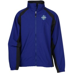 View a larger, more detailed picture of the Water Resistant Color Block Jacket - Men s