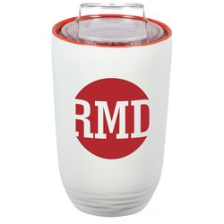 View a larger, more detailed picture of the Ivory Tower Tumbler - 10 oz