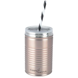 View a larger, more detailed picture of the I Can Stainless Tumbler w Straw - 18 oz