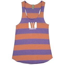 View a larger, more detailed picture of the Alternative Stripe Racer Tank - Ladies