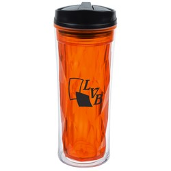 View a larger, more detailed picture of the Multi-Faceted Travel Tumbler - 16 oz