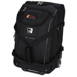 View a larger, more detailed picture of the High Sierra Elite Carry-On Wheeled Duffel - Embroidered