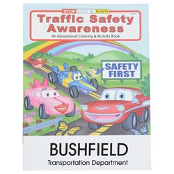 View a larger, more detailed picture of the Traffic Safety Awareness Coloring Book