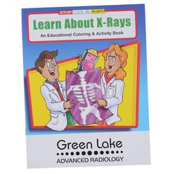 View a larger, more detailed picture of the Learn About X-Rays Coloring Book