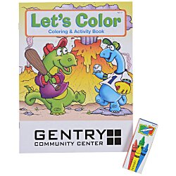 View a larger, more detailed picture of the Fun Pack - Let s Color