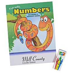View a larger, more detailed picture of the Color & Learn Fun Pack - Numbers