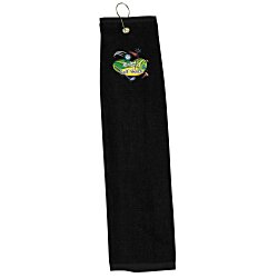 View a larger, more detailed picture of the Trifold Golf Towel - Colors - Embroidered