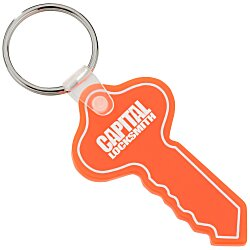 View a larger, more detailed picture of the Round Head Key Soft Key Tag