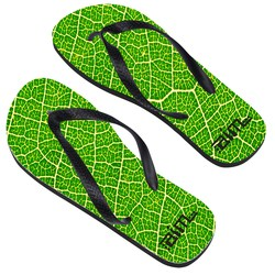 View a larger, more detailed picture of the Adult Flip Flops - Large - Full Color