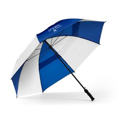View a larger, more detailed picture of the Windjammer Vented Auto Open Golf Umbrella - 62