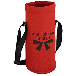 View a larger, more detailed picture of the Neoprene Growler Cover w Drawstring