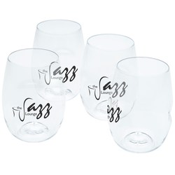View a larger, more detailed picture of the GoVino Wine Glass Set - 16 oz