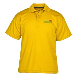 View a larger, more detailed picture of the Dry-Mesh Hi-Performance Polo - Men s- Closeout Color