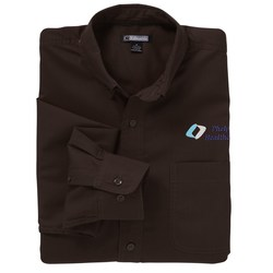 View a larger, more detailed picture of the Easy Care Poplin Shirt - Men s - Closeout