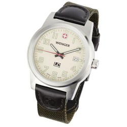 View a larger, more detailed picture of the Wenger Field Classic Watch - Men s