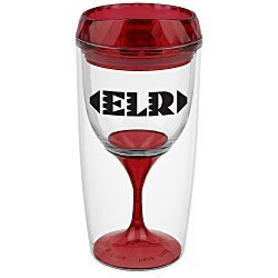 View a larger, more detailed picture of the Lola Wine Tumbler - 8 oz