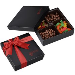 View a larger, more detailed picture of the 4-Way Gift Box - Gourmet Confections