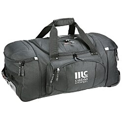 View a larger, more detailed picture of the High Sierra 26 Wheeled Duffel Bag - 24 hr
