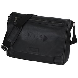 View a larger, more detailed picture of the Kenneth Cole Reaction Laptop Messenger - 24 hr