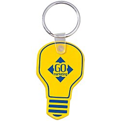 View a larger, more detailed picture of the Light Bulb Soft Key Tag - Opaque