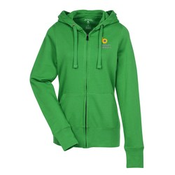 View a larger, more detailed picture of the Antigua Signature Full Zip Hoodie - Ladies