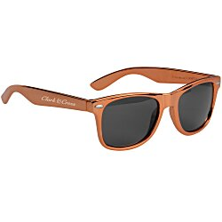 View a larger, more detailed picture of the Risky Business Sunglasses - Metallic
