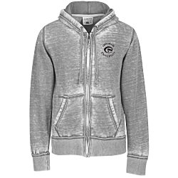 View a larger, more detailed picture of the J America Zen Full-Zip Hooded Sweatshirt - Men s - Screen