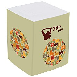 View a larger, more detailed picture of the Cube Tissue Box