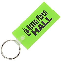 View a larger, more detailed picture of the Large Rectangle Soft Key Tag