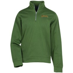 View a larger, more detailed picture of the Water Resistant 1 4 Zip Pullover Sweatshirt
