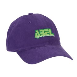 View a larger, more detailed picture of the Brushed Cotton Unstructured Cap - Closeout
