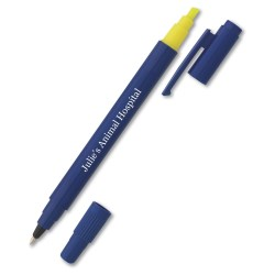 View a larger, more detailed picture of the Dual-Tip Pen Highlighter
