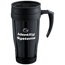View a larger, more detailed picture of the Insulated Tumbler w Handle - 16 oz - Translucent