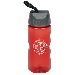 View a larger, more detailed picture of the Mini Mountain Sport Bottle with Sport Lid - 22 oz